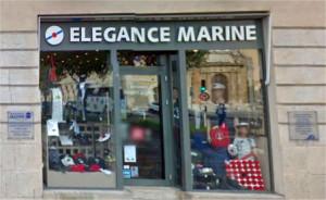 Facade magasin élégance marine place d'arme à toulon