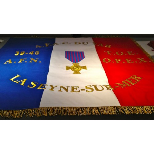 Drapeau AFAC du Var - La Seyne-sur-Mer
