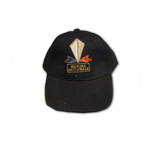 Casquette brodée MARINE NATIONALE
