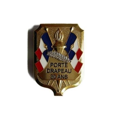 Insigne de Poitrine Porte drapeau 30
