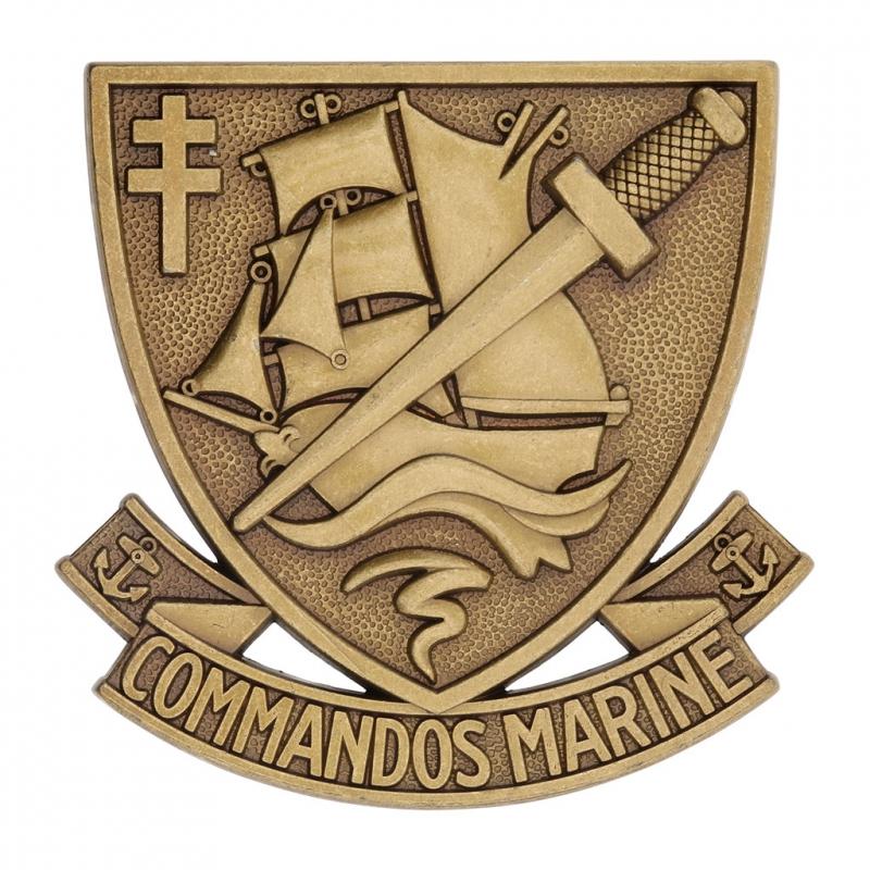 Insigne de Béret Commandos de marine