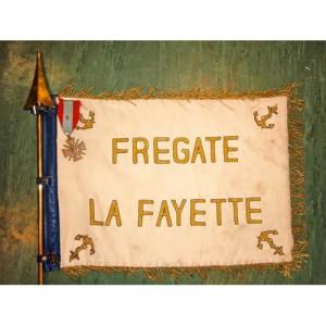 Drapeau Frégate LA FAYETTE