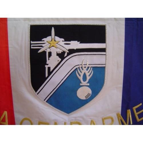 Drapeau Gendarmerie Brodé
