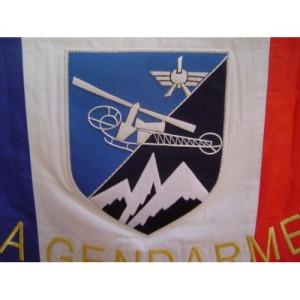 Drapeau Gendarmerie Brodé 2