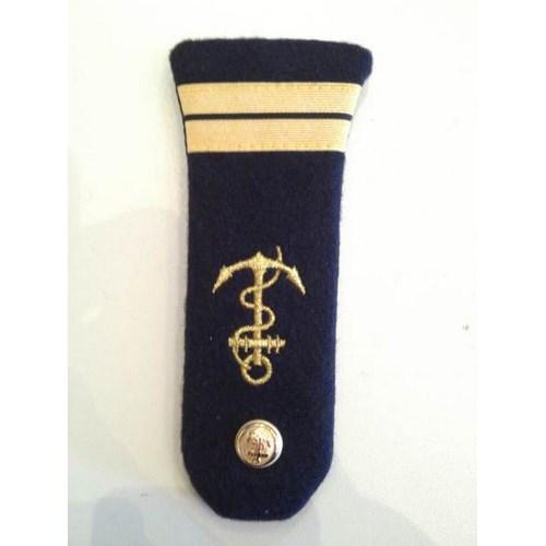 Pattes d'épaules Lieutenant - Marine Marchande