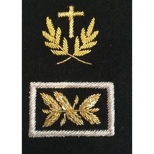 Pattes d'épaules - Aumonier - Catholique