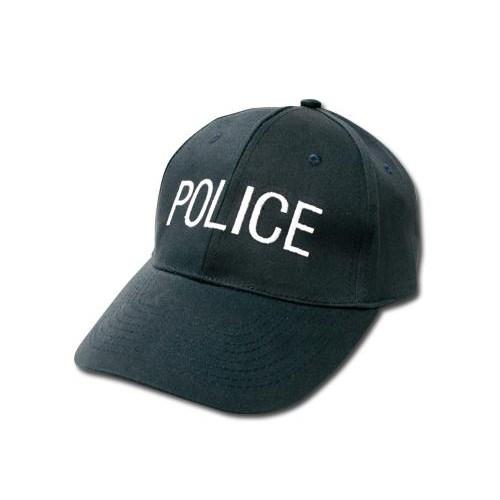 casquette brodée de la police