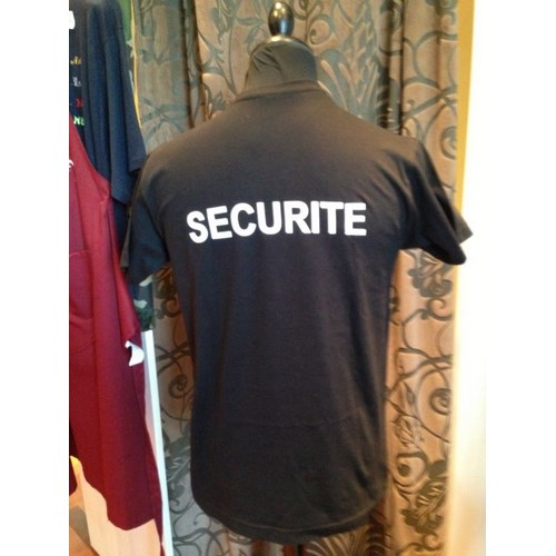 T-SHIRT SECURITE DOS