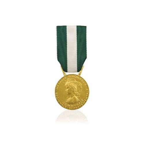 Médaille départementale et communale | Vermeil