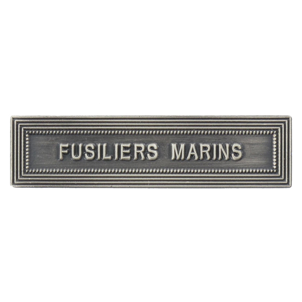 Agrafe Ordonnance Fusiliers Marins