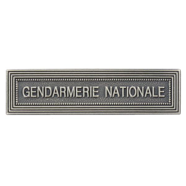 Agrafe Ordonnance Gendarmerie Nationale