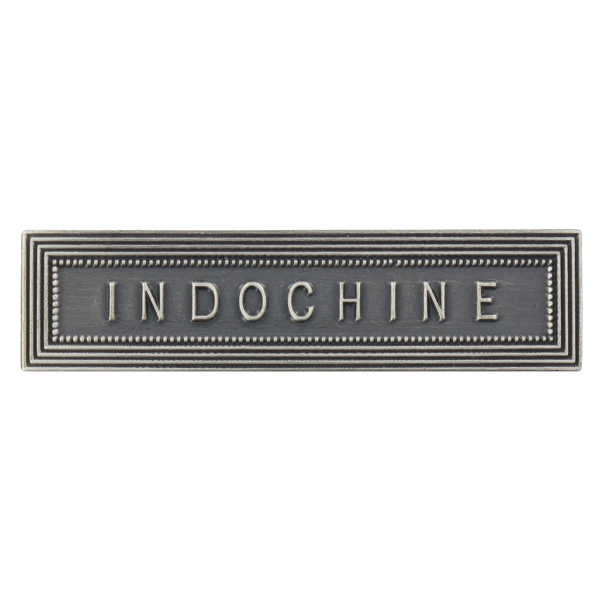 Agrafe Ordonnance Indochine