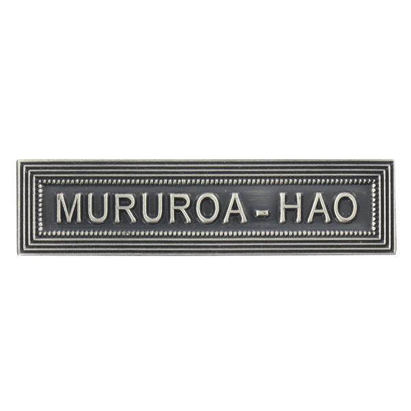 Agrafe Ordonnance Mururoa-Hao