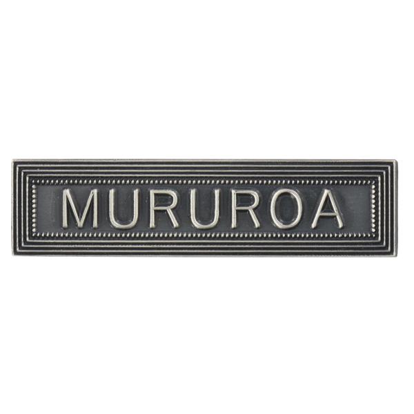Agrafe Ordonnance Mururoa