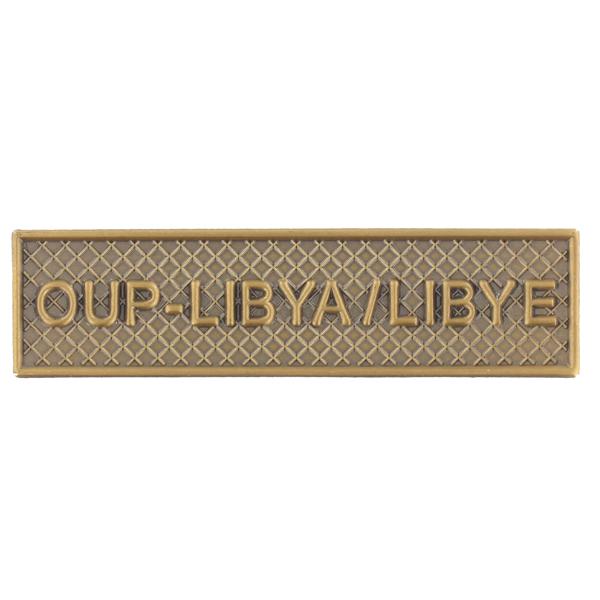 Agrafe Ordonnance OUP-Libya / Libye
