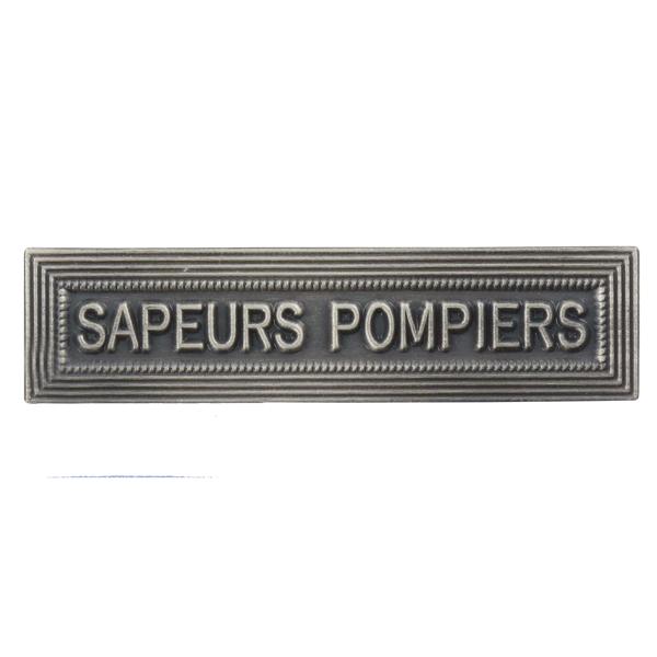 Agrafe Ordonnance Sapeurs Pompiers