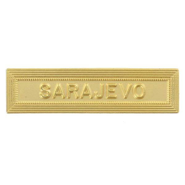 Agrafe Ordonnance Sarajevo Or