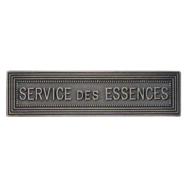 Agrafe Ordonnance Service des Essences