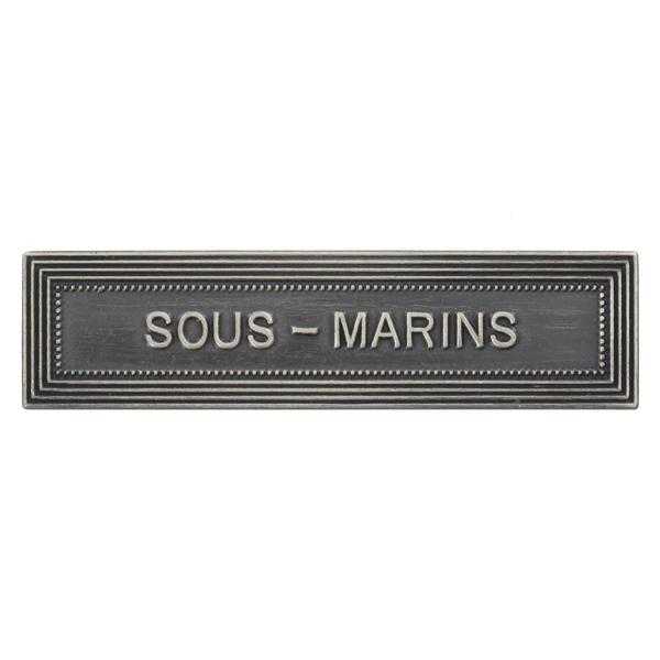 Agrafe Ordonnance Sous-Marins