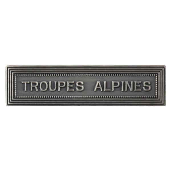 Agrafe Ordonnance Troupes Alpines