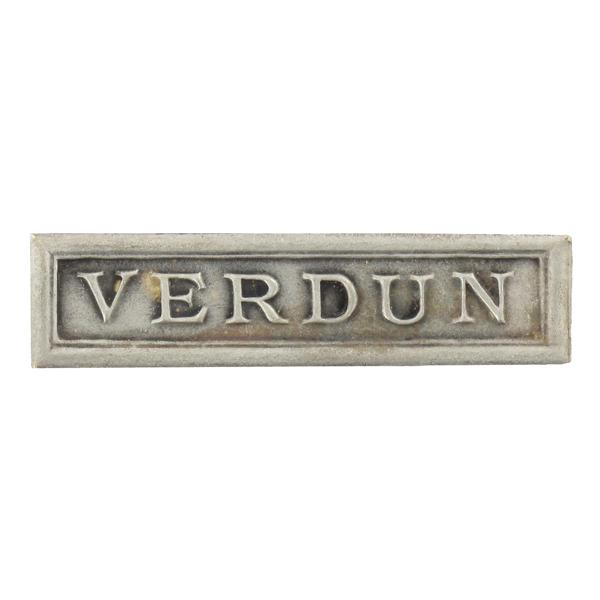 Agrafe Ordonnance Verdun
