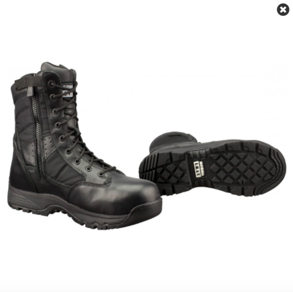 Chaussures de sécurité coquées avec Zip