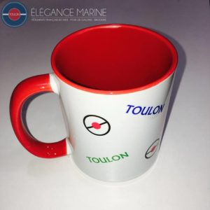 MUGS TASSE ROUGE TOULON