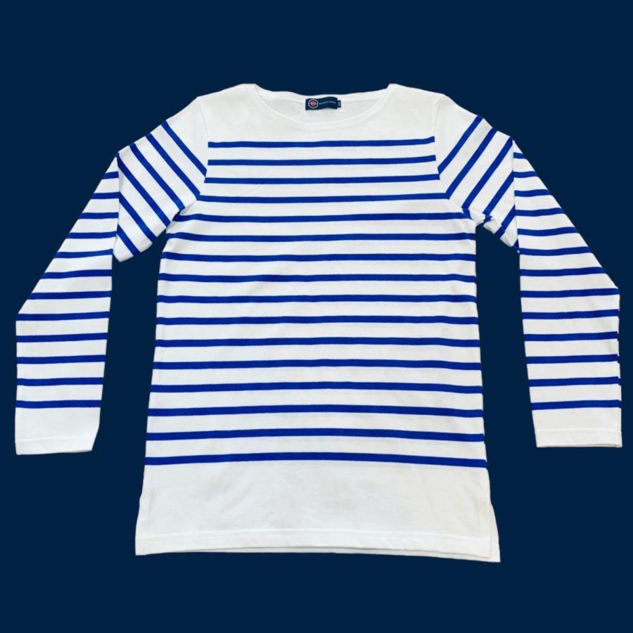 tshirt raye type marine nationale - tissu l u00c9ger