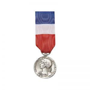 medaille ordonnance 20ans travail bronze argent